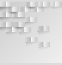 white geometric background vector image