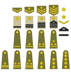 Japanese army insignia vector image
