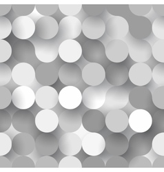 Seamless flat circles vector image vector image