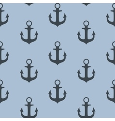 Anchor Seamless Pattern Background vector image