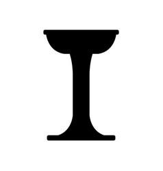 bar stool icon vector image