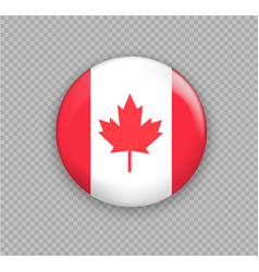 flag of canada the right colors and proportions vector image