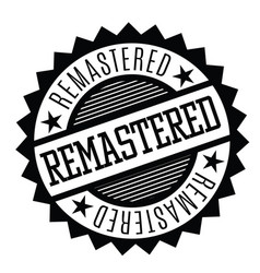 remastered stamp in turkish vector image