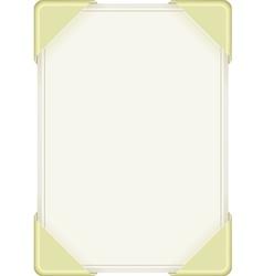 Sheet paper vector