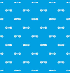 train wheels pattern seamless blue vector image