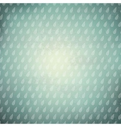 Vintage Background With Rain Drops vector