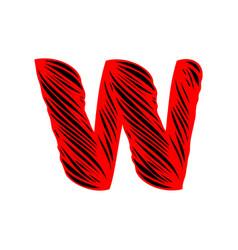 W-letter-logo-design vector
