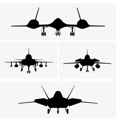 Airplanes vector image vector image