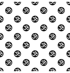 Ohm symbol pattern simple style vector image