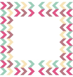Arrow background geometric design vector