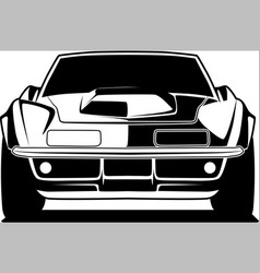 car 19 vector image