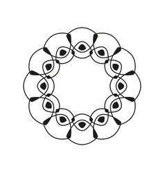 circular banner vector image