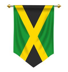 Jamaica pennant vector