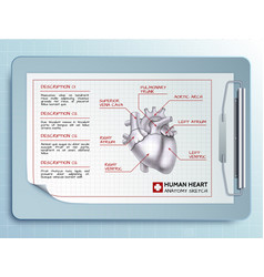 medical tool template vector image