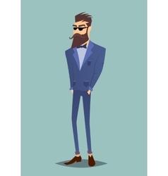 Modern hipster stand vector