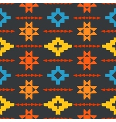 Navajo tribal ornament vector