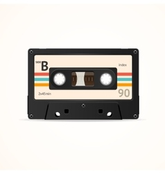 Cassette Tape Old vector image