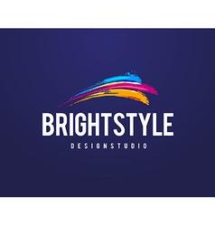 Bright Style Logo vector image
