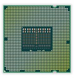 processor vector image vector image