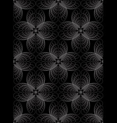 Abstract geometric halftone seamless pattern vector