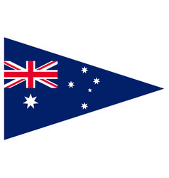 Australian national flag government symbol red vector
