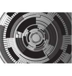 Black digital template background vector
