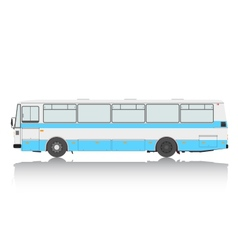 Bus on a white background vector image