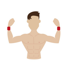 Fitness icon image vector
