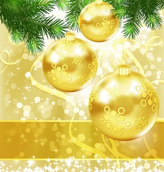 Merry Christmas and New Year Background for vector
