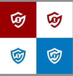 Security logo s shield logo vector