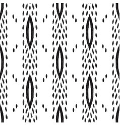 Tribal seamless pattern ethnic background vector