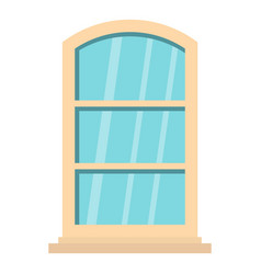 white narrow window icon isolated vector image