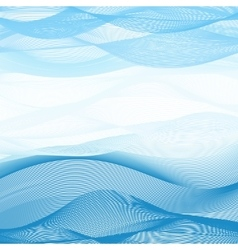 Abstract image Background of blue-white ribbons vector image