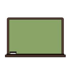 school blackboard element vector image vector image