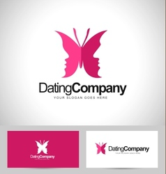 Butterfly logo concept vector