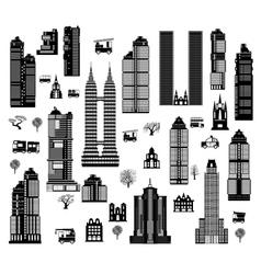 City mix vector image