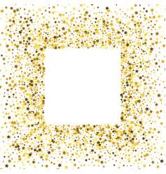frame or border of stars vector image
