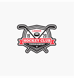 Hockey club badge logo-5 vector