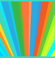 inclined vertical colorful rainbow stripes vector image