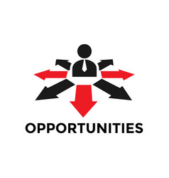 Opportunities icon design template isolated vector