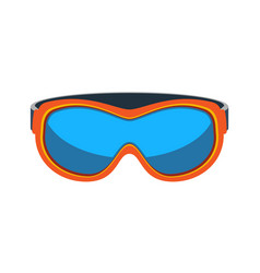 Safety goggles isolated icon vector