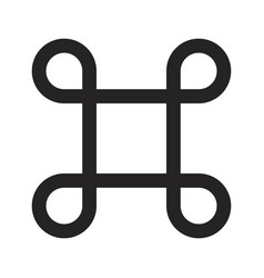 Scalable icon vector