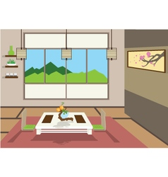 zenroom vector image