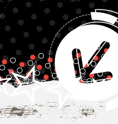 abstract grunge artwork vector image