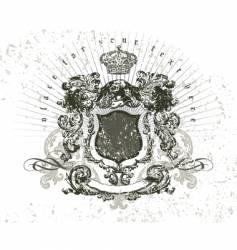 vintage composition vector image vector image