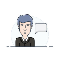 account manager vector image