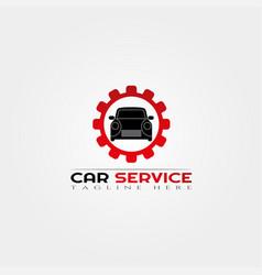 Car service icon templatecreative logo design vector