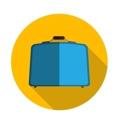 Flat Design Concept Suitcase vector