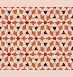 geometric arabic seamless pattern vector image