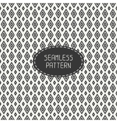 Geometric line seamless pattern with rhombus vector